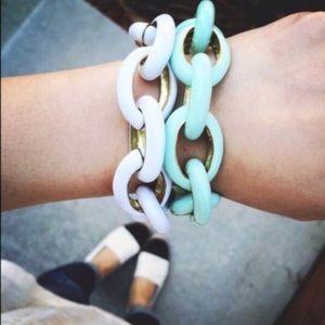 New Chain Link Enamel Bracelets